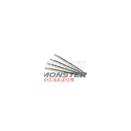 Integy Aluminum Standard Pushrod Revo (4) Silver