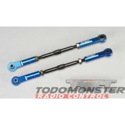 Integy Super-Duty Front Turnbuckle Blue Revo