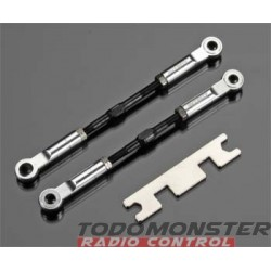 Integy Super-Duty Front Turnbuckle Silver Revo