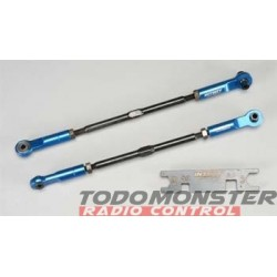 Integy Super-Duty Rear Turnbuckle Blue Revo