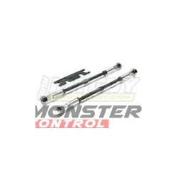 Integy Super-Duty Rear Turnbuckle Silver Revo