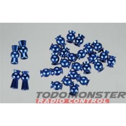 Integy Blue Alloy 5.8mm Ball End Revo (28)