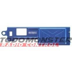 Integy EVO3 Receiver Box Cover Blue Revo 3.3