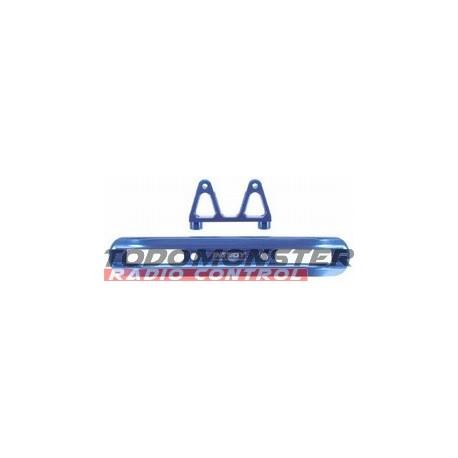 Integy EVO3 Front Bumper w/Mount Blue Revo 3.3