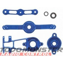 Integy EVO3 Servo Saver Set Blue Revo 3.3