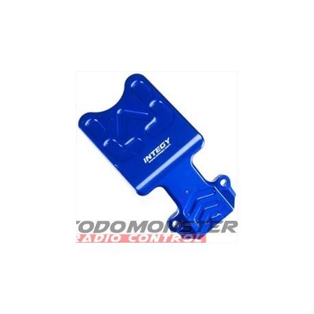 Integy EVO3 Front Skid Plate Blue Revo 3.3