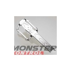 Integy Silver Lower Tranny Guard for the Revo 3.3