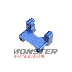 Integy EVO3 Rear Shock Mount Blue Revo 3.3