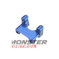 Integy EVO3 Rear Shock Mount Blue Revo 3.3