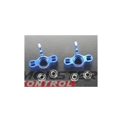 Integy Maxx Super Steering Block Blue