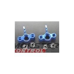 Integy Maxx Super Steering Block Blue