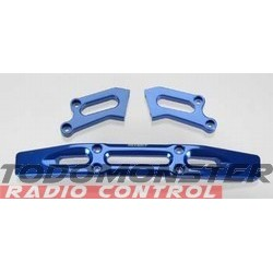 Integy Heavy Duty Front Bumper Blue T-Maxx 3.3