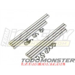 Integy Titanium Pin Set T-Maxx 3.3 (8)