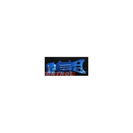 Integy T-Maxx Front Skid Plate Blue