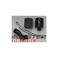 Integy High Flow Air Filter Black Revo w/T3168