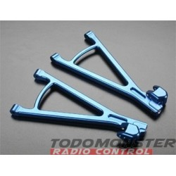 Golden Horizons Aluminum Rear Lower Arms Blue Revo