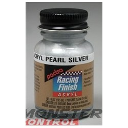 Pactra Acrylic 1 oz. Pearl Silver