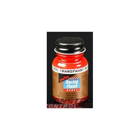 Pactra Acrylic 1 oz. Transparent Red