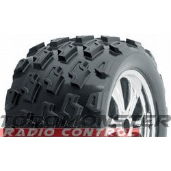 Dirt Hawg 40 Series Tires T/E-Maxx 2.5 Savage (2)