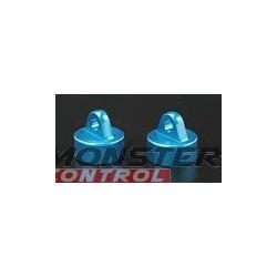 Golden Horizons Aluminum Shock Caps Blue Revo (2)