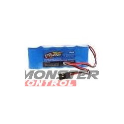 Racers Edge 5 Cell 1200 Nimh Flat Receiver Pack