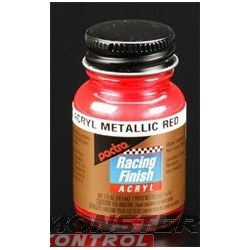 Pactra Acrylic 1 oz. Metallic Red