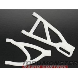 RPM Dyeable White Revo Rear A-Arms
