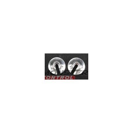 Golden Horizons Alum Spring Retainers Silver Revo 2.5/3.3 (2)