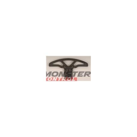 RPM Wide Front Bumper/A-Arm Mount Black Jato