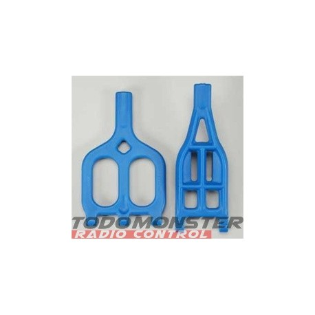 RPM A-Arms Upper/Lower Blue 2.5R/3.3 (2)