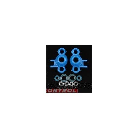 RPM Axle Carriers & Oversized Bearings Blue Revo