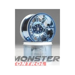 RPM Monster Spider Stablemaxx Offset Wheels Blue Chrom