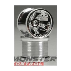 """RPM Bully 2.2"""" Truck Wheels Fits the Front Traxxas Electric and"""