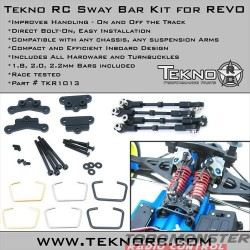 Tekno RC Sway Bar Kit for the Revo