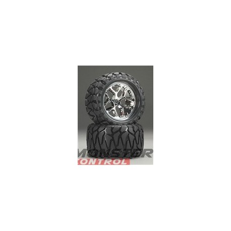 "Hot Bodies Quake Tire W/ Blender Wheel 7"" (2)"