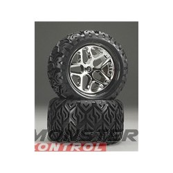 "Hot Bodies V-Block Tire W/ Blender Wheel 7"" (2)"