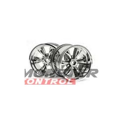 Hot Bodies Spoke Wheel Chrome (2)