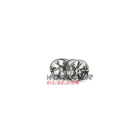 Hot Bodies Spoke Wheel Chrome (2)