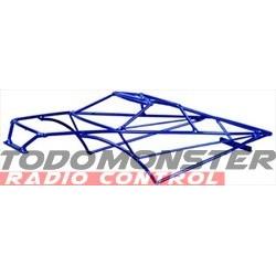Hard Body'z Traxxas Revo 3.3 Roll Cage Candy Blue